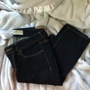 Abercrombie and Fitch skinny dark jeans